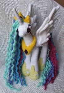 amigurumi pony yapılışı