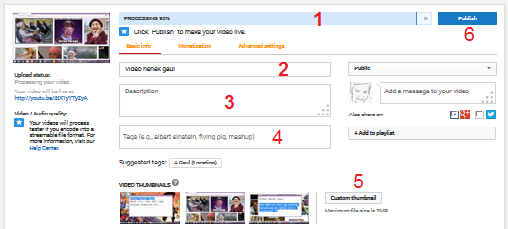 upload video di youtube 2015