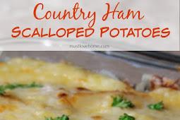 Country Ham and Potato Bake