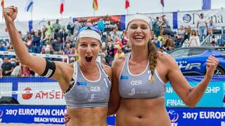 VOLEY PLAYA - Campeonato de Europa femenino 2017 (Jurmala, Letonia): Glenzke y Grossner se hacen de oro dejando un nuevo subcampeonato a una dupla checa