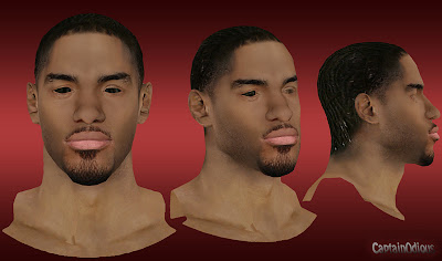 NBA 2K13 Chris Copeland Cyberface Mod