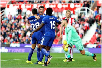 Highlight Stoke City 0-4 Chelsea, 23 September 2017