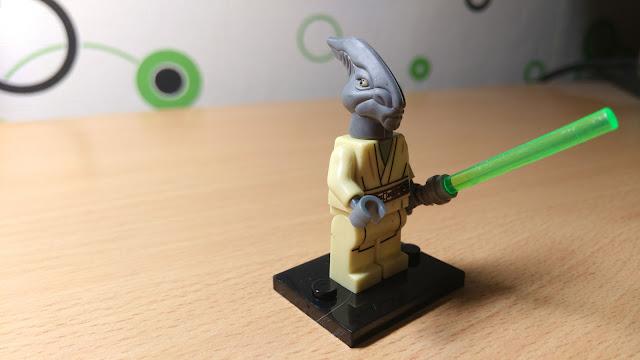 Фигурка лего джедай Коулман Требор Звездные войны