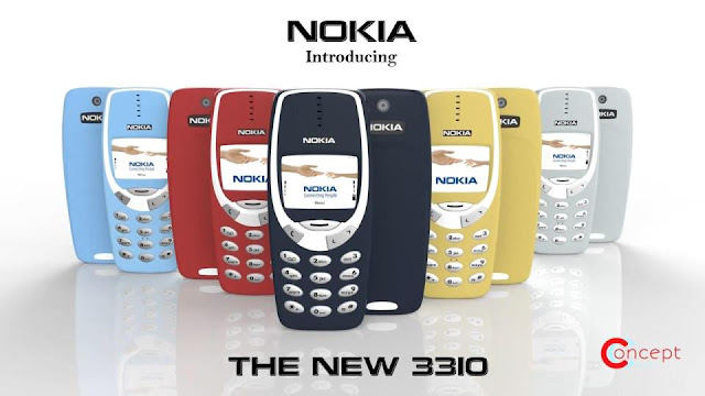 Nokia 3310 Feature Phone Reborn 2017