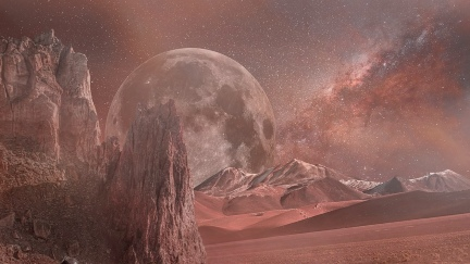 A Mars katonaja bemutatás