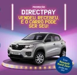 Cadastrar Promoção DirectPay 2018 Carro Zero KM