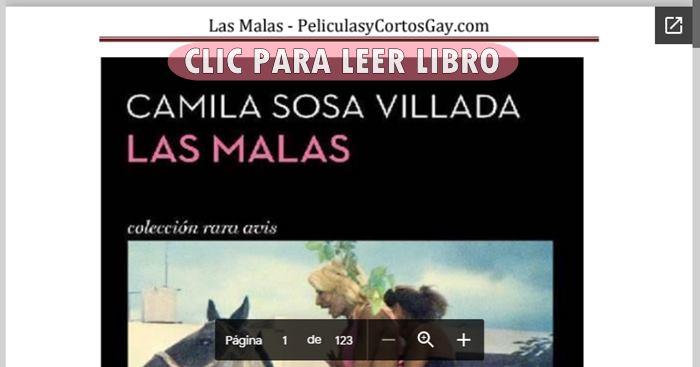 CLIC PARA LEER Las Malas - LIBRO - Camila Sosa Villada [Leer Online + Descarga]