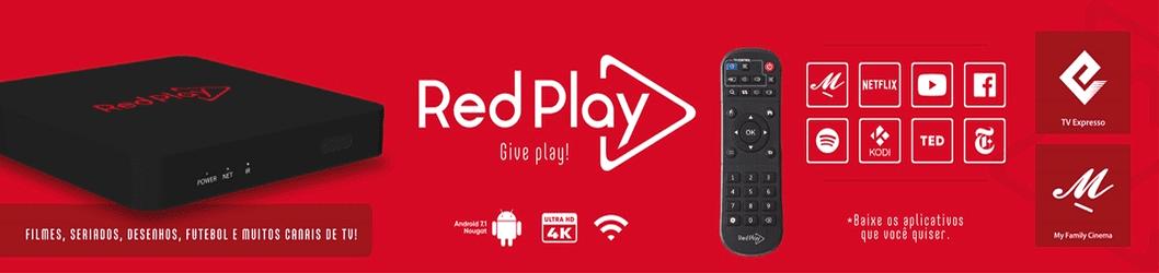 Lançamento! RedPlay - Um novo conceito em receptor IPTV!