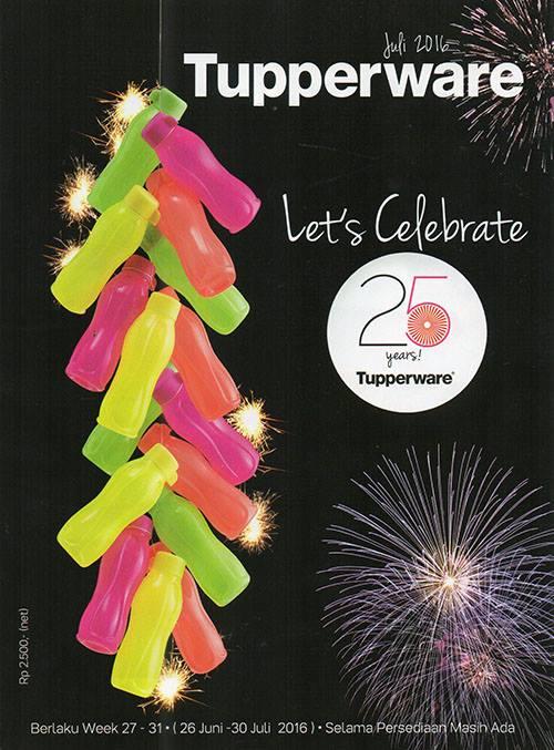Katalog Promo Tupperware Juli 2016 Terbaru