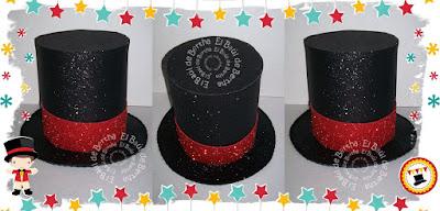EL BAÚL DE BERTHA - MANUALIDADES  Sombrero Domador de Circo en Foamy ... e90c4a5e84e