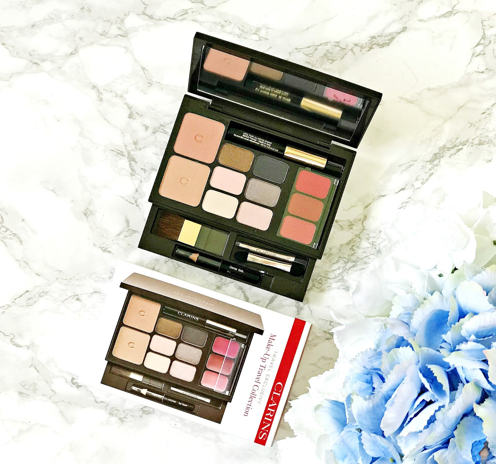 Clarins Travel Essentials Palette Review, Duty Free Exclusive