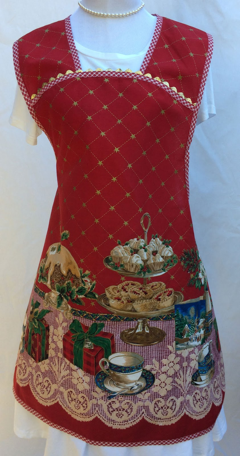 My Country Apron New Christmas Cobbler Aprons and Vintage