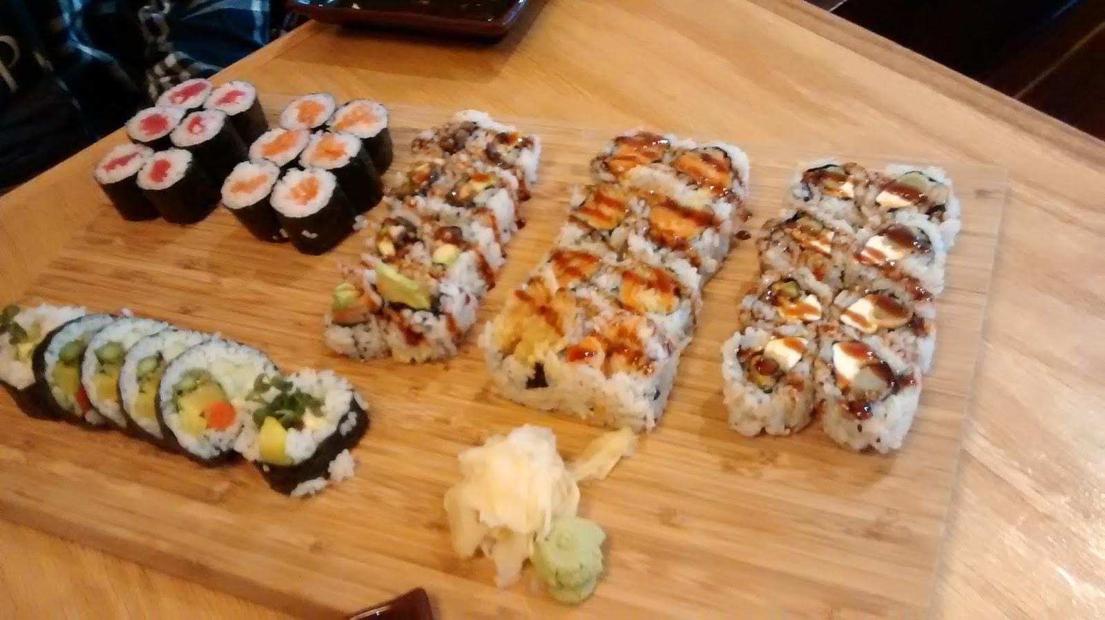 Sushi Station Webster Groves Visited November 2015 I like that it's in webster groves. st louis mid county restaurant reviews blogger