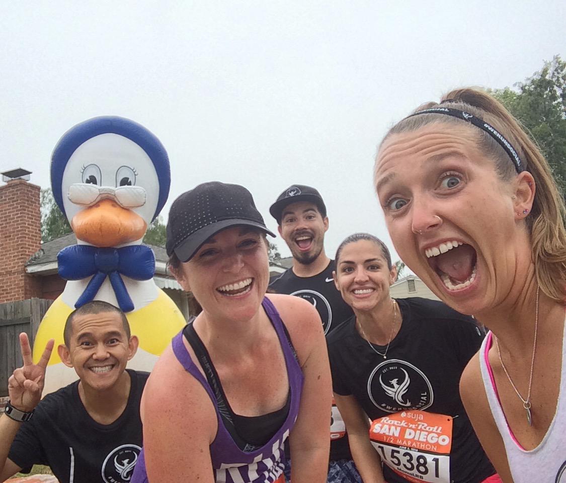 be the change: Rock 'N' Roll San Diego Half Marathon Race Recap