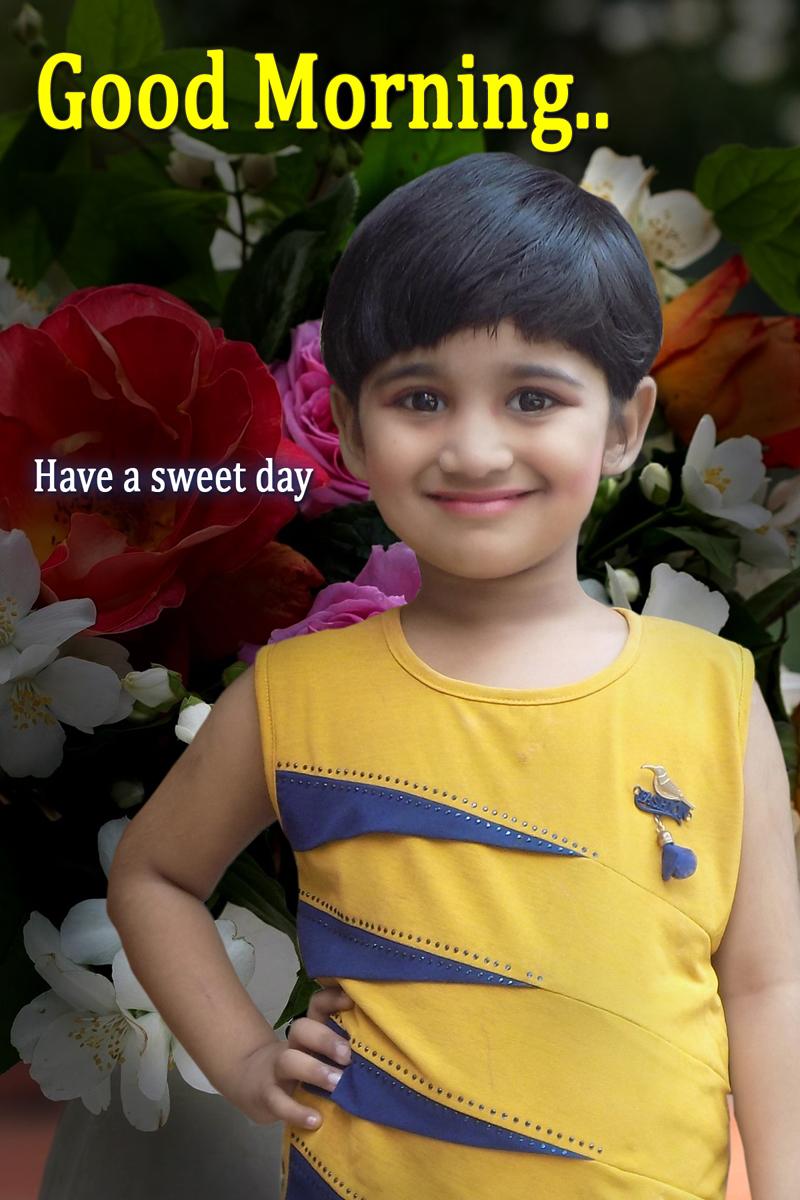 Cute Smile Baby Girl Pictures India Nainika Raj Good Morning