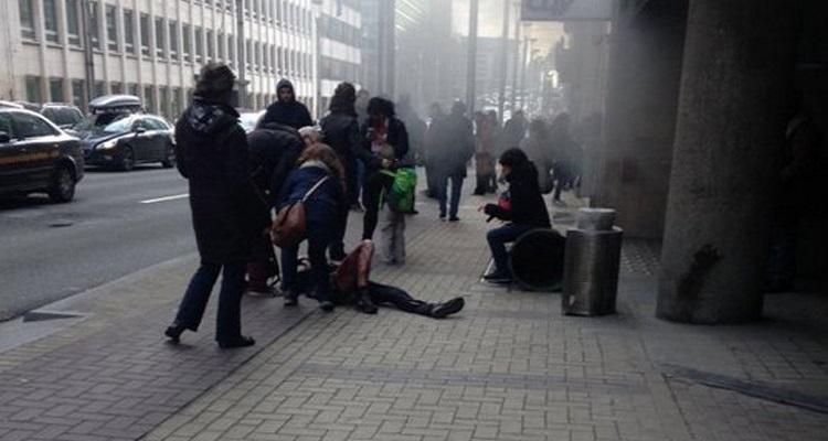 صحفي  بلجيكي يروي تفاصيل مروعة عن انفجار محطة مترو بروكسيل