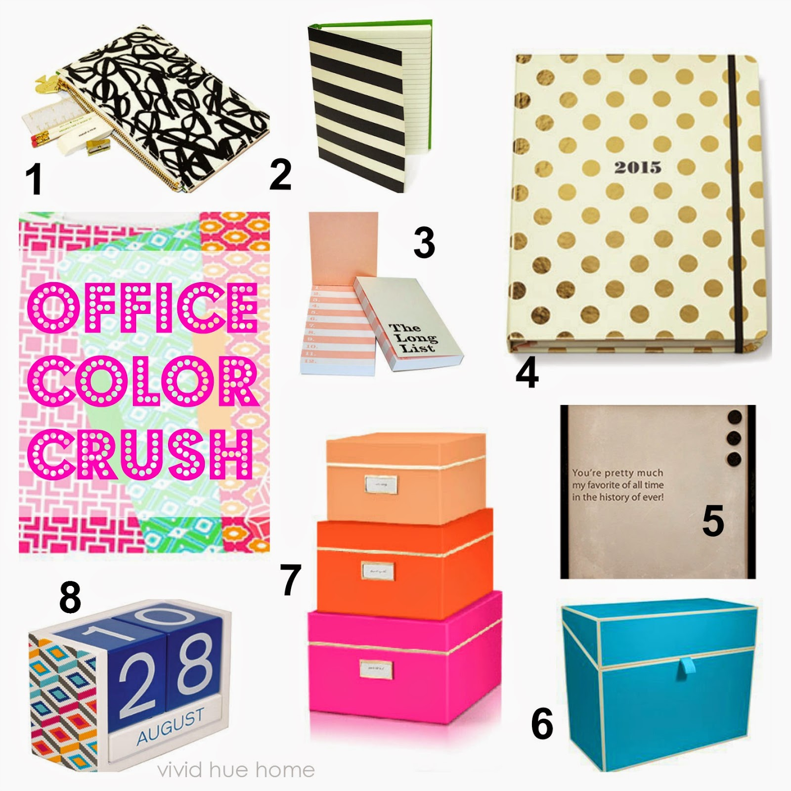 Hue Home Color Crush Urban Office Supplies