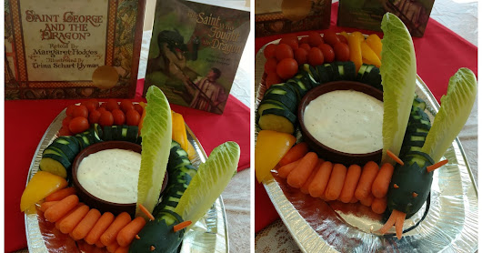 Feast of St. George and the (Veggie) Dragon