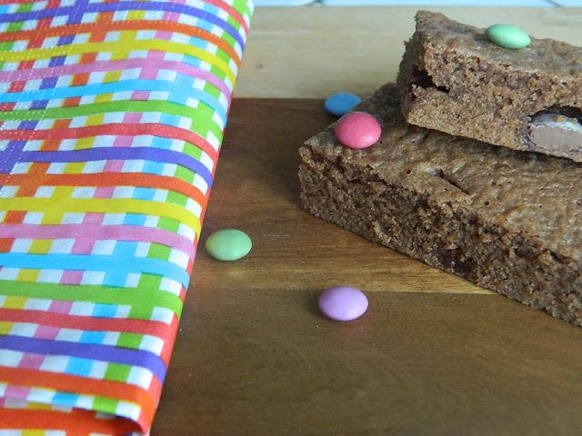 Gâteau au chocolat au lait et Smarties