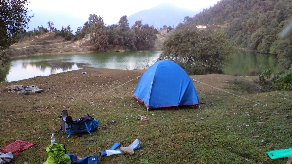 chopta trek camp