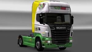 Keroro Gunso Scania Skin