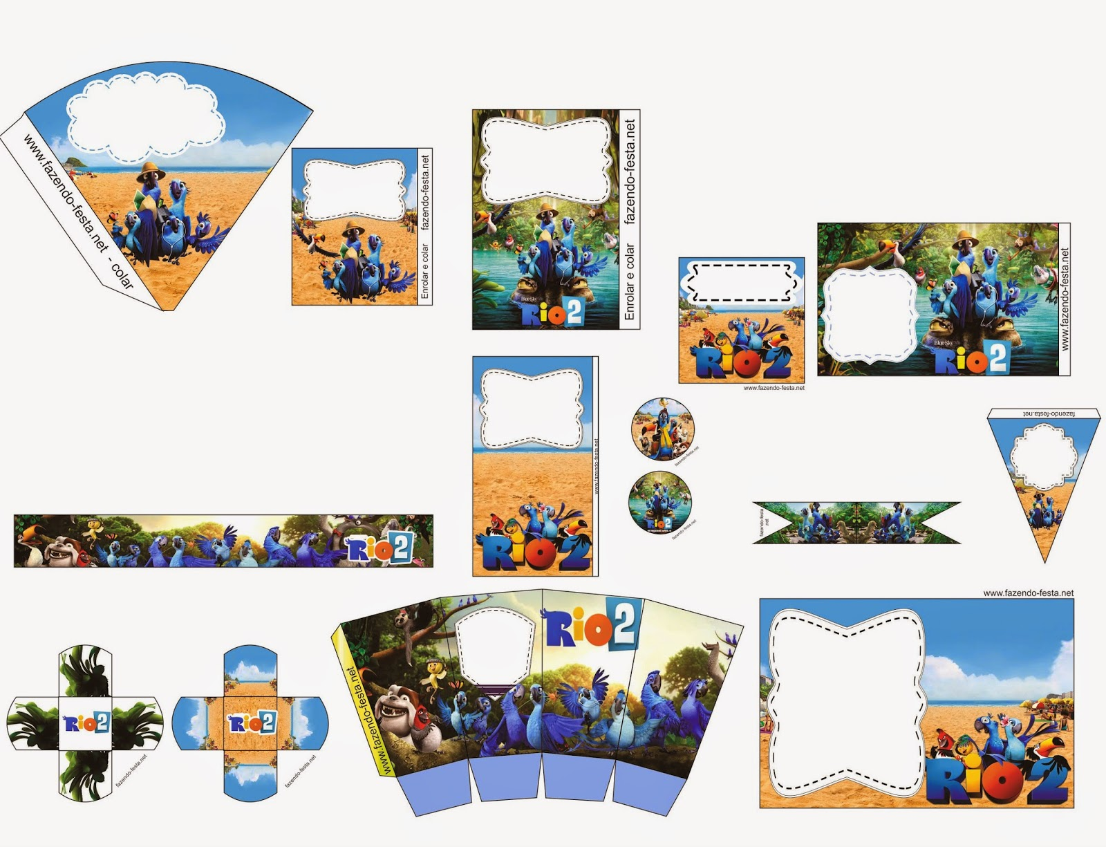 Mini Kit de Río 2 para Imprimir Gratis. | Ideas y material gratis ...
