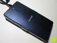 Ladegerät oben: kwmobile Universal Notebook Ladegerät Netzteil 90W und USB Anschluss, Adapter für Acer, Asus, Lenovo, Liteon, Samsung, Sony, Toshiba und weiteren