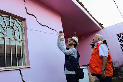 Serviço Geológico do Brasil investiga evidências de risco geológico em bairro de Maceió