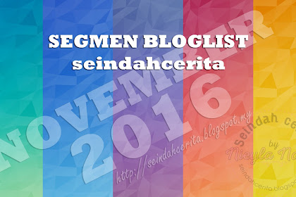 Segmen Bloglist November Blog Seindahcerita