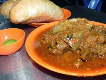 Cà ri dê Ấn Độ rất béo vào nhanh ngán