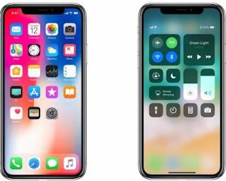 Cara Menampilkan Mengecek Level Persentase Baterai di iPhone X