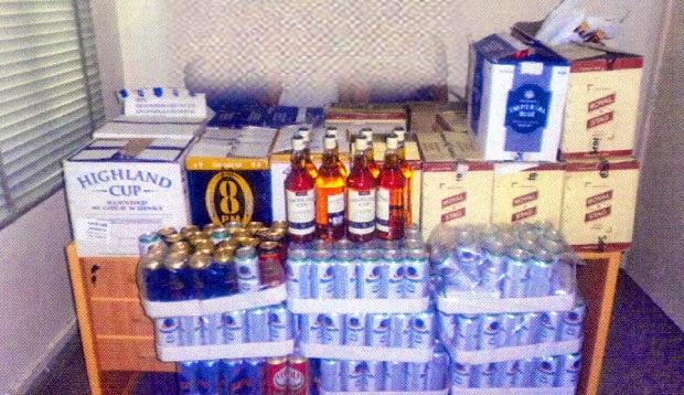 Oman Coast: Booze Market in Oman