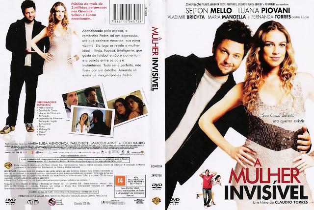 Capa DVD A Mulher Invisível