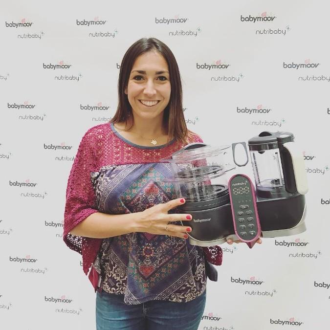 Recetas de Alma Obregón con el robot de cocina para bebés Nutribaby de Babymoov