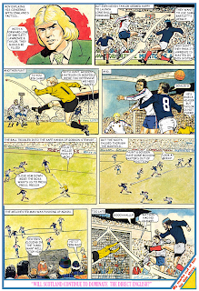 Scotland vs England - Roy of the Rovers