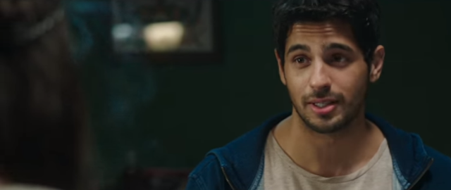Sidharth Malhotra from the movie Kapoor and Sons.