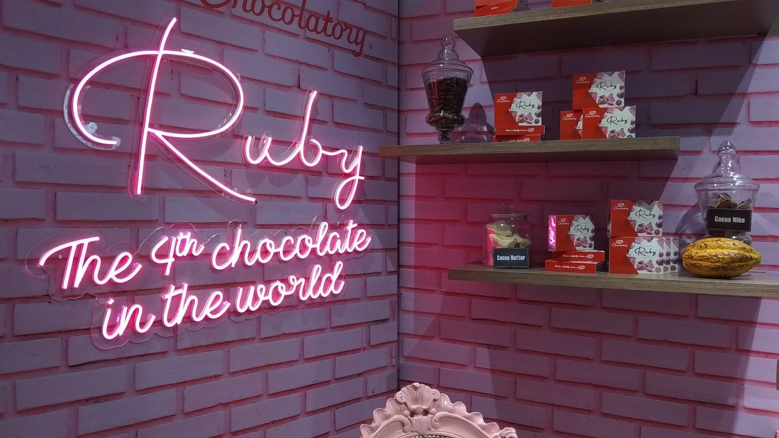 Pelancaran Coklat KITKAT Ruby Hasil Semulajadi Menjadi Debut di Asia Tenggara