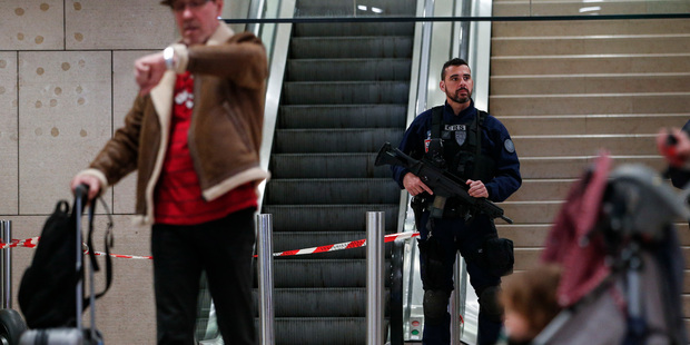 Orly shooting: French police question relatives of gunman