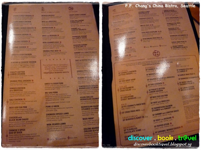 photograph about Pf Changs Printable Menu identified as Cafe Critique: P.F. Changs China Bistro, Seattle