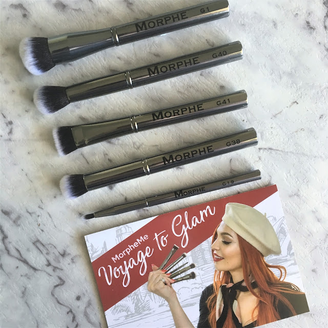 MorpheMe Makeup Brush Subscription Club - May 2017 Voyage to Glam