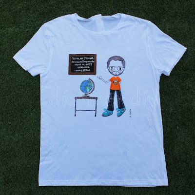 Camisetas personalizadas profes