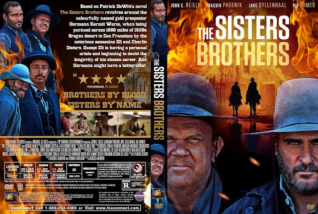 The Sisters Brothers DVD Cover