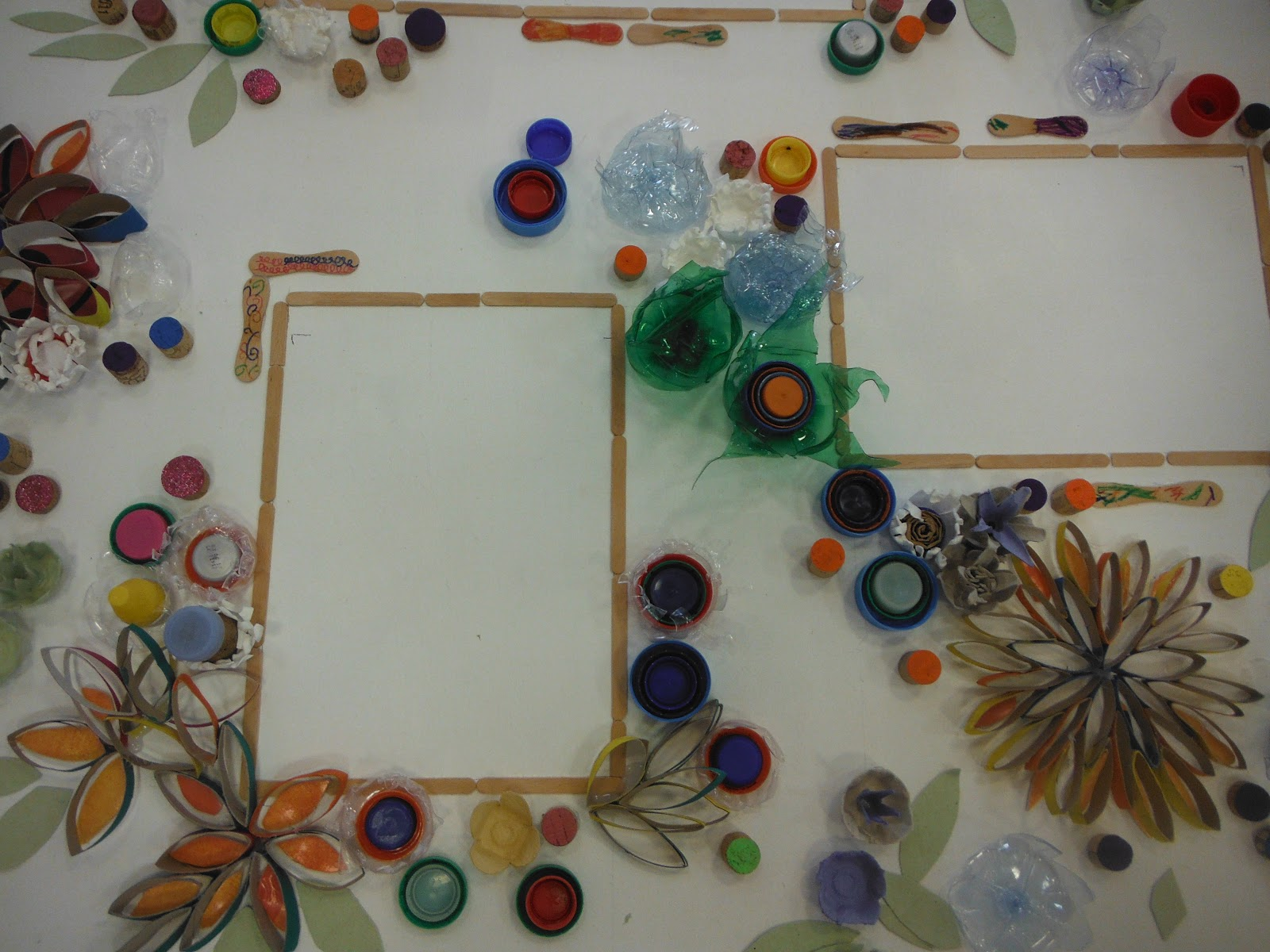 Beliebt Recyclage Artistique | MIMI VERMICELLE / Cours Art plastique et  BH37