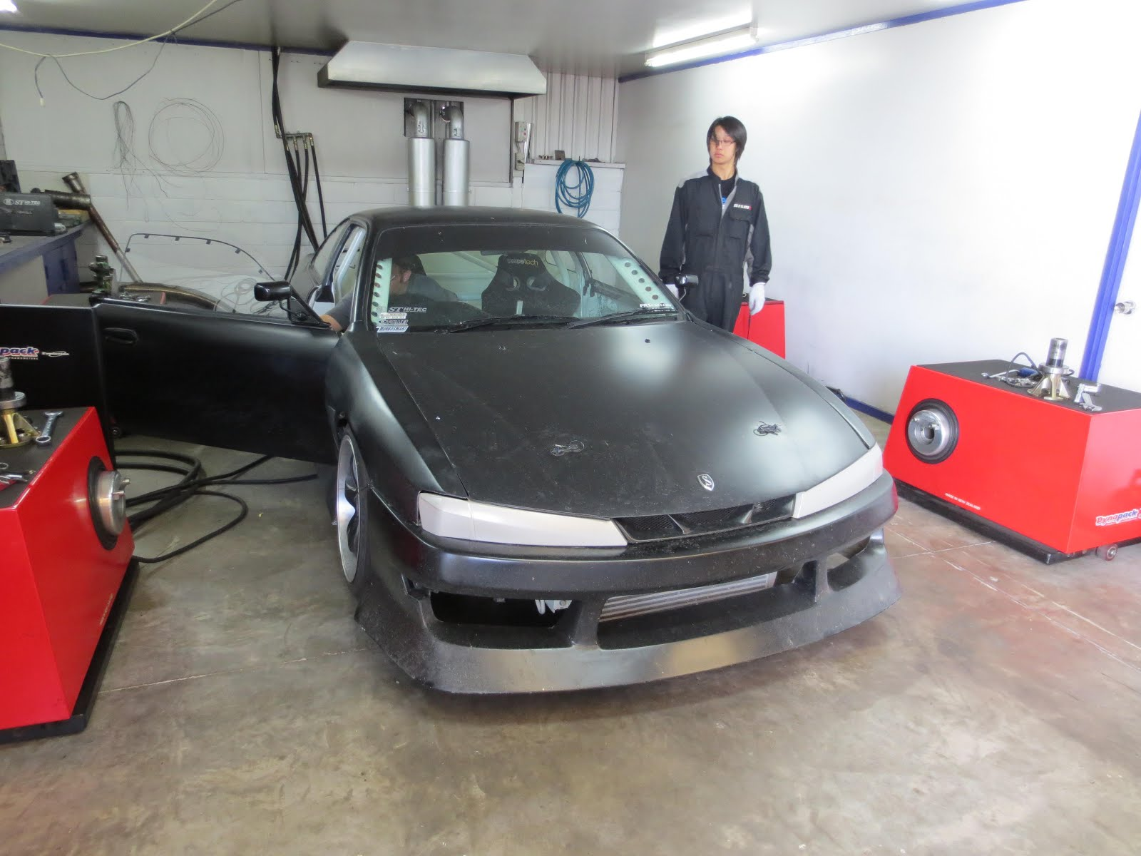 ST Hitec's Tuning Diary: SR20DET with TOMEI ARMS 8270 TURBO