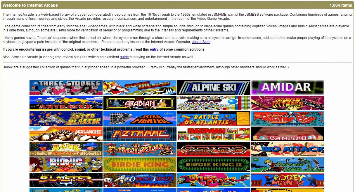 Tecnologia Habitual Jugar 1000 Juegos Antiguos Arcade On Line