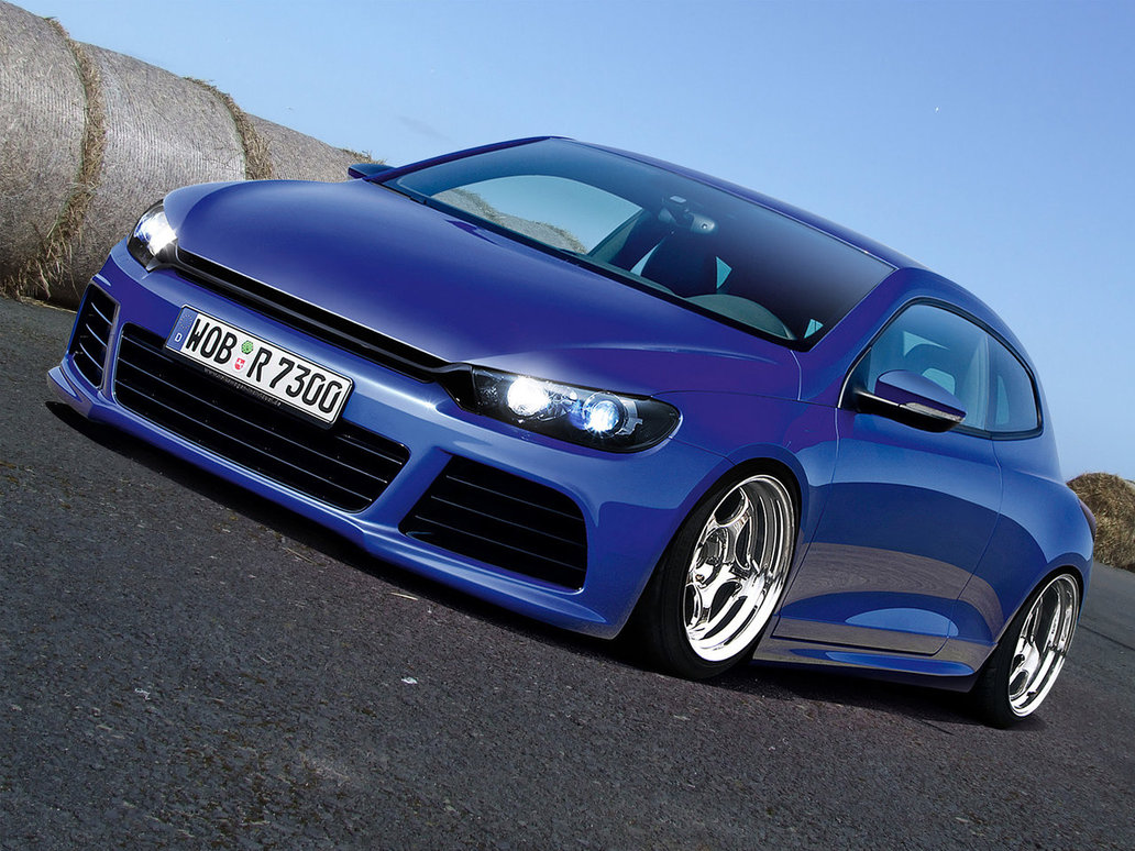 fashion tuned cars volkswagen scirocco amazing tuning. Black Bedroom Furniture Sets. Home Design Ideas