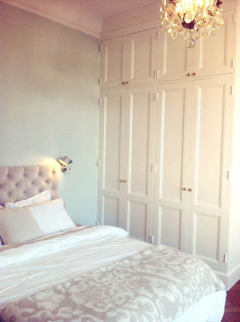 Farrow and Ball Pale Powder Bedroom