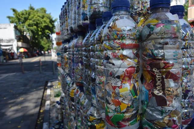 Eco brick botol