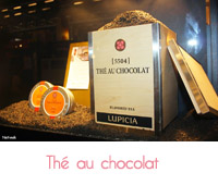 thés au chocolat