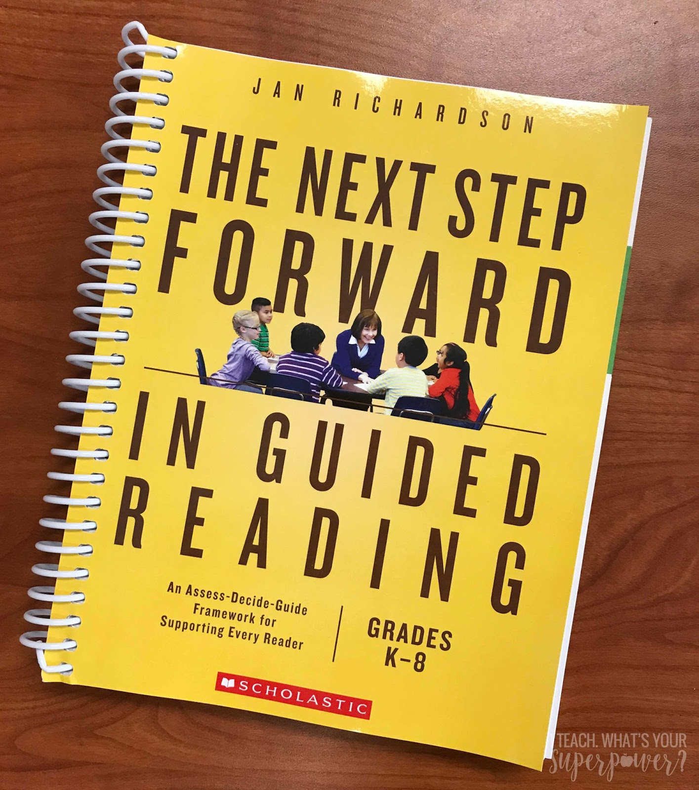 The Next Step Forward in Guided Reading is a must!! If you're not sure how to teach guided reading, this book will get you there.